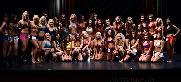 BlazerDancers Auditions   Portland Trail Blazers