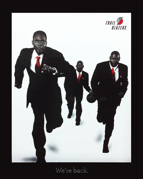 "Blazers Portland Posters: ""We're Back!"""